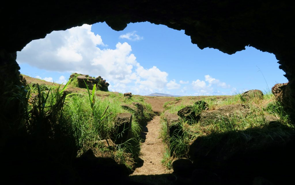 Easter Island Cave