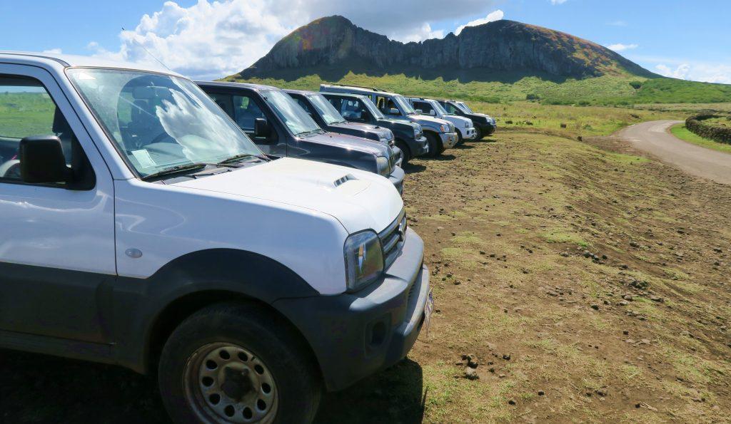 Easter Island Cars
