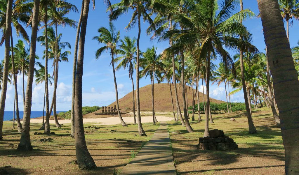Easter Island Anakena Beach