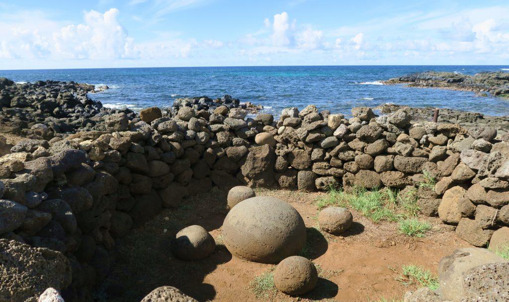 Easter Island Te Pito Kura Stone