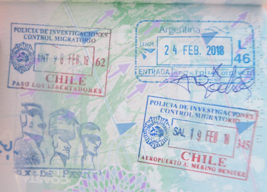Easter Island Passport Stamp