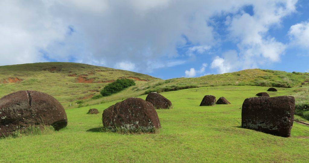 Easter Island Puna Pau Topknots