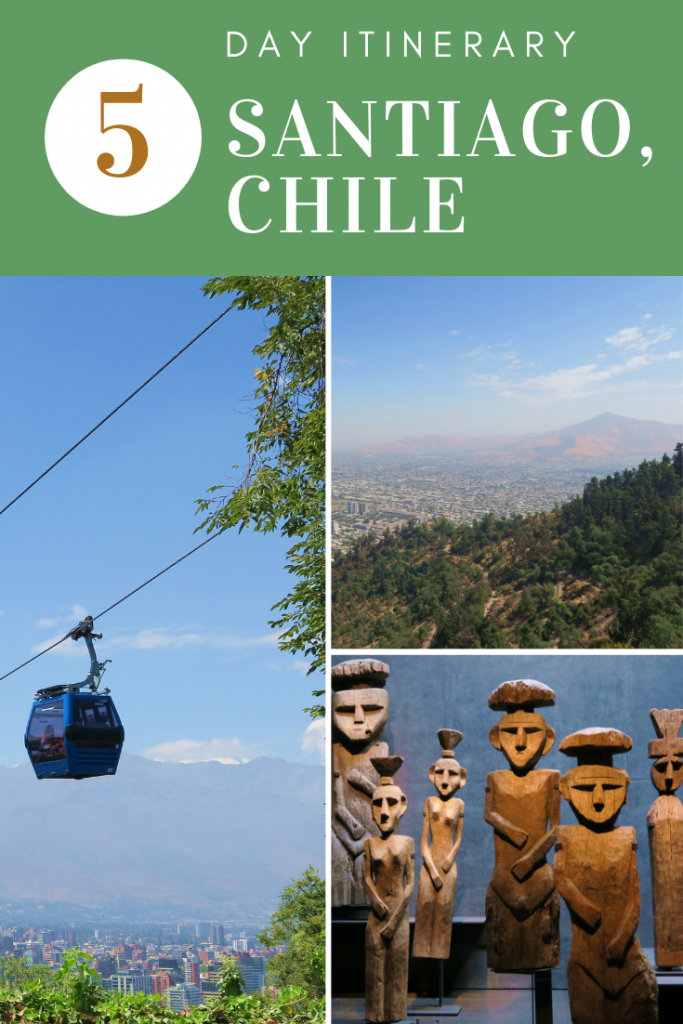 SANTIAGO, CHILE ITINERARY - Click here to find out how to spend 5 days in Santiago, a city of beauty, culture and fun!