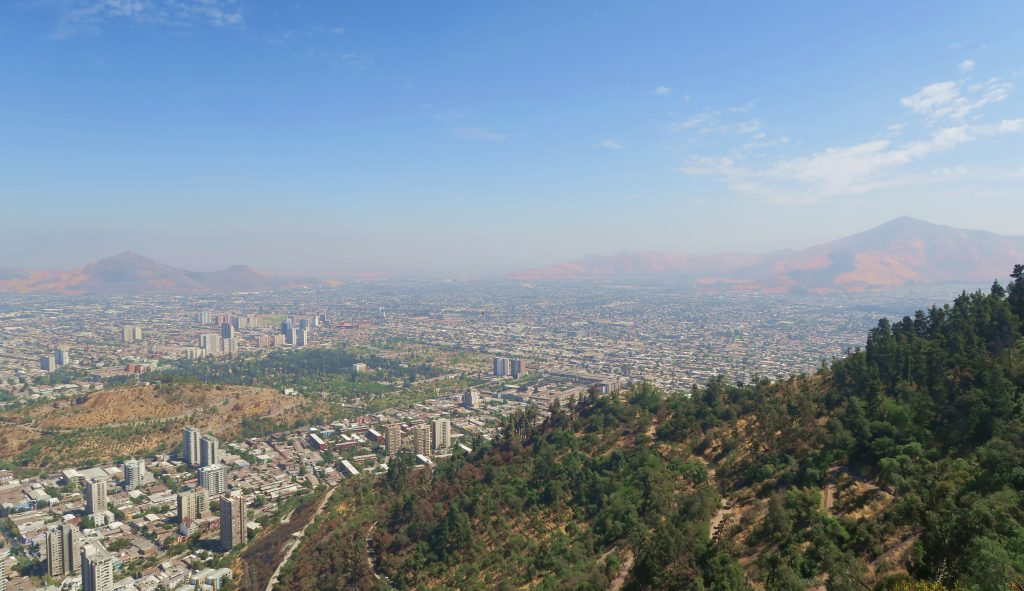 View from Cerro San Christóbal