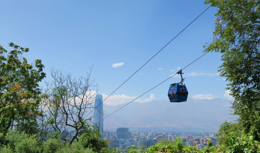 Santiago Chile Cable Car