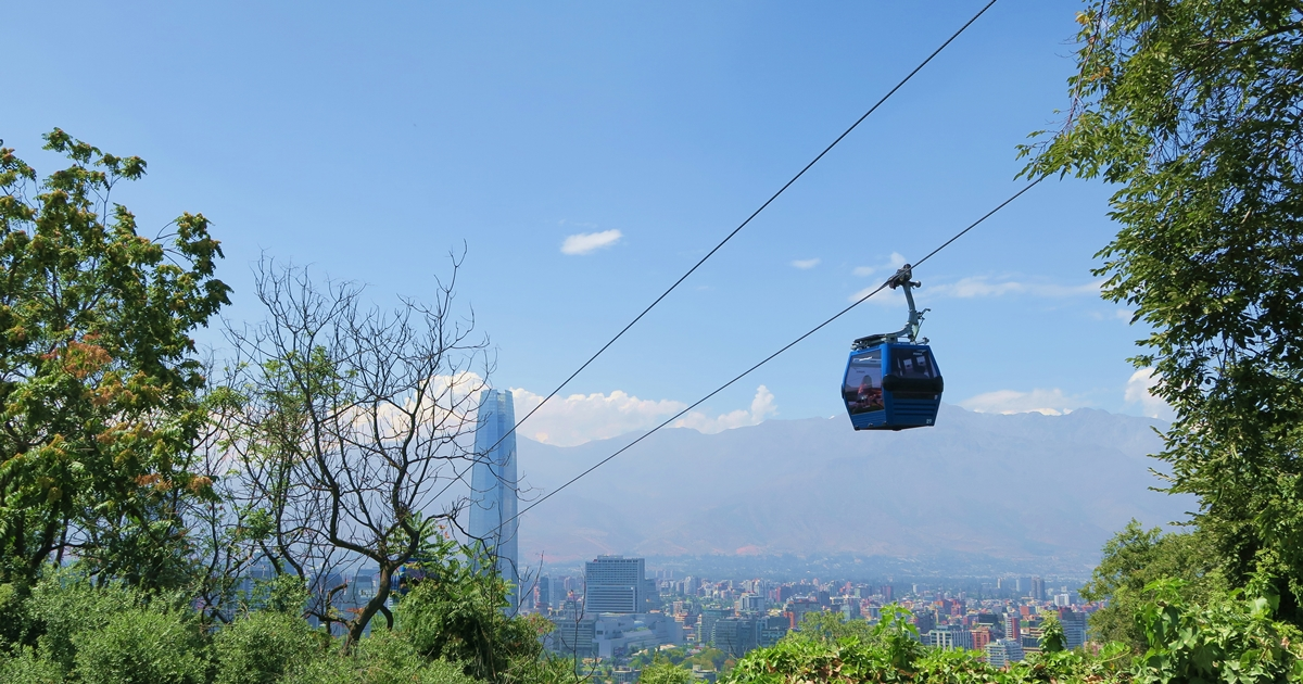 Cable Car in Santiago - Cover Photo