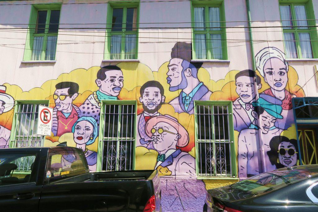 Valparaíso Band Street Art