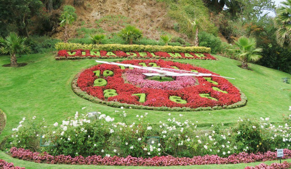Vina Del Mar Floral Clock