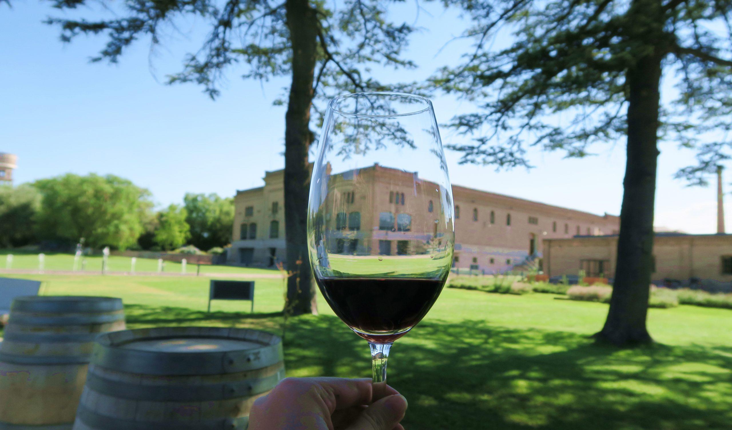 Wine at Trapiche Vineyard, Mendoza, Argentina