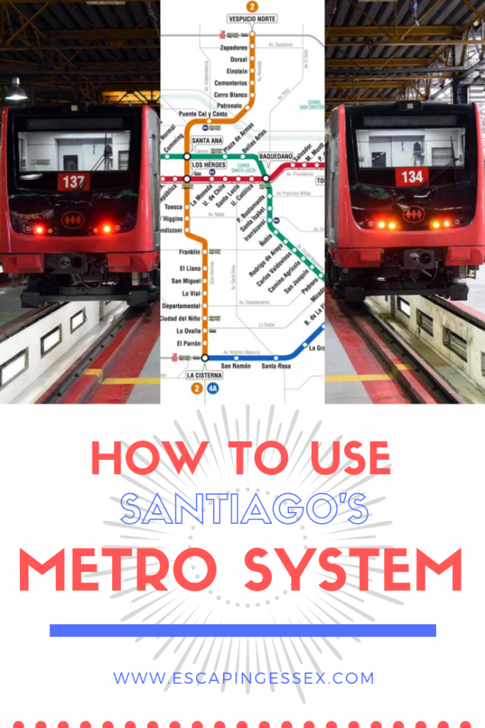 HOW TO USE SANTIAGO'S METRO SYSTEM - Santiago has a super efficient metro system that couldn't be easier to use. Find a full guide here.