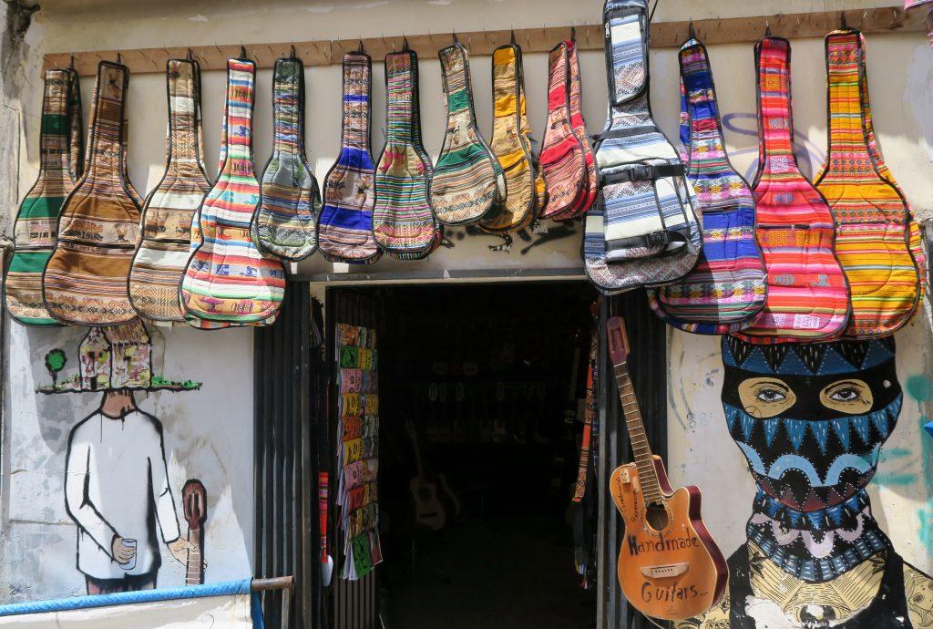 La Paz Guitar Shop