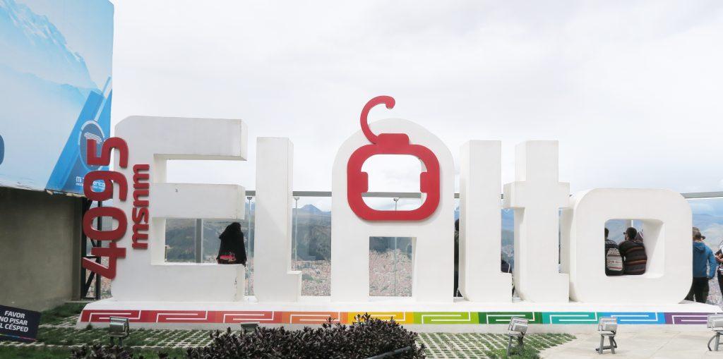 El Alto Sign