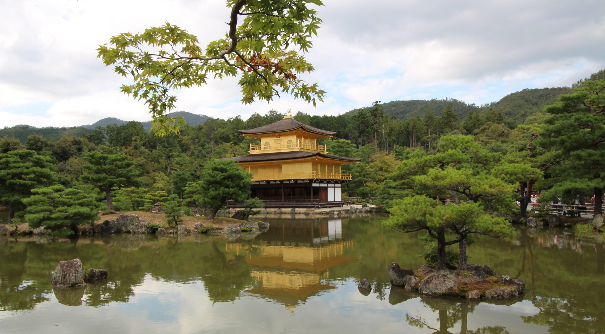 Kinkaku-ji gold shrine, Kyoto, Japan