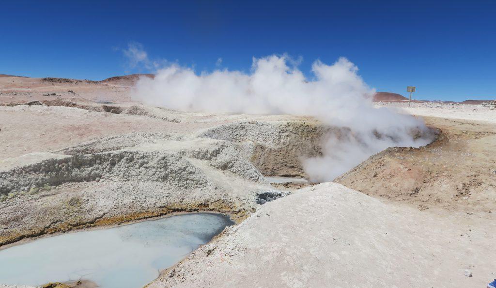 Geysir, Uyuni, Bolivia