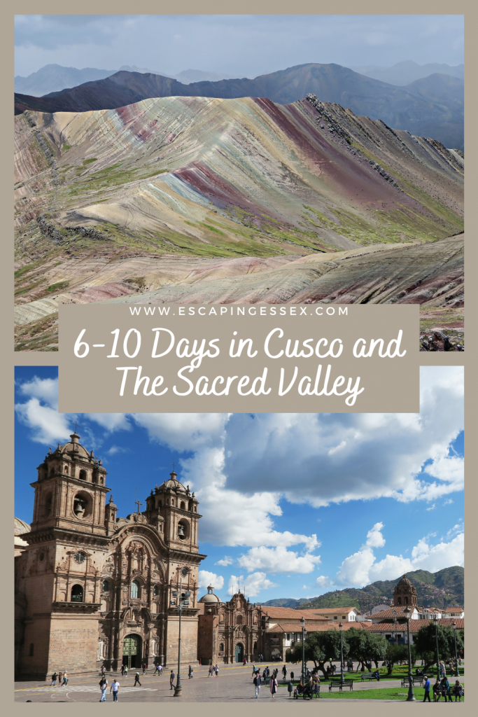 6-10 DAYS IN CUSCO AND THE SACRED VALLEY, PERU - Home of the Incas, this area needs to be on your travel bucket list. There's so much to see and do, here is the perfect itinerary for 6-10 days in Cusco and the Sacred Valley!