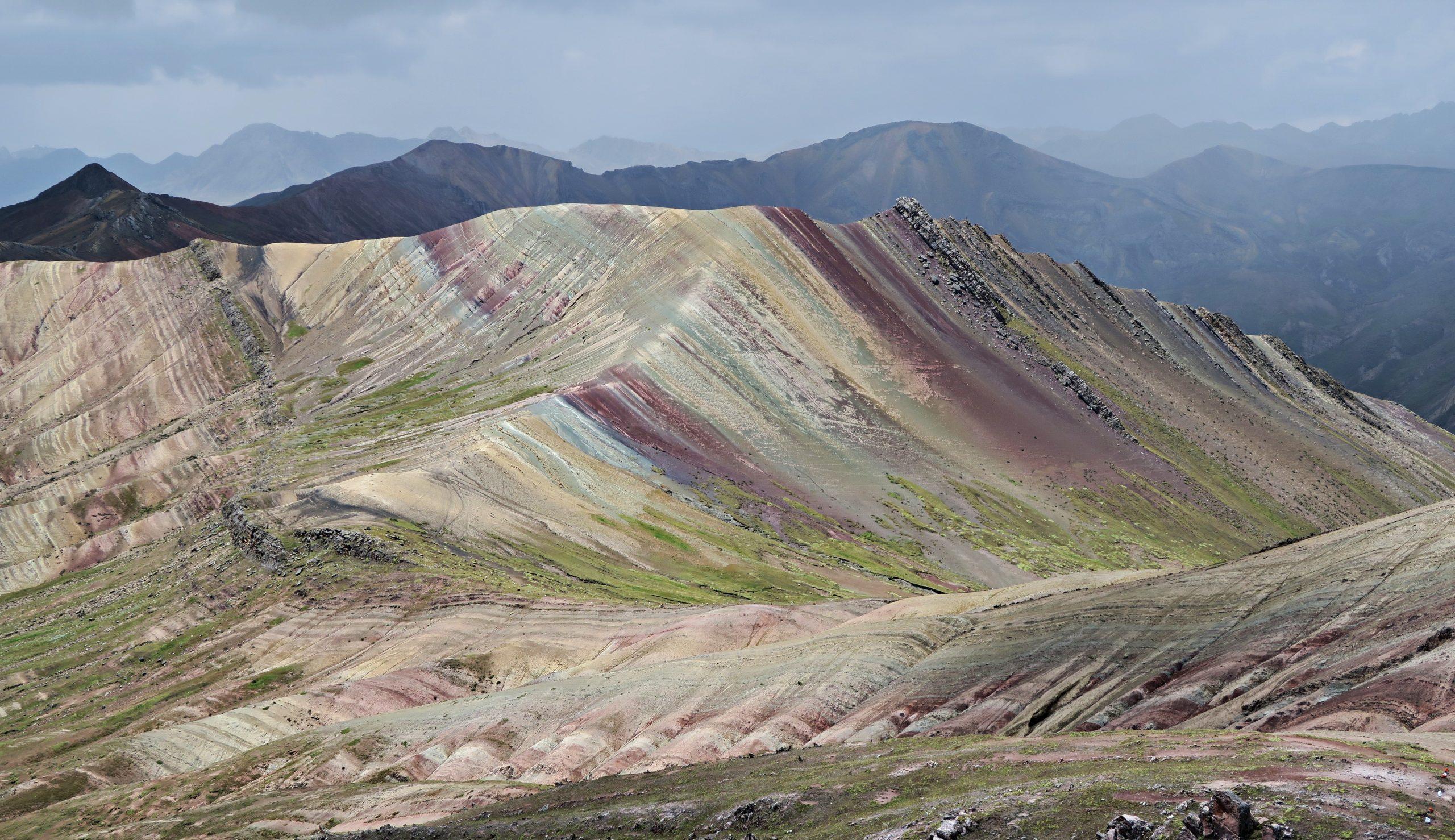 Alternative Rainbow Mountain