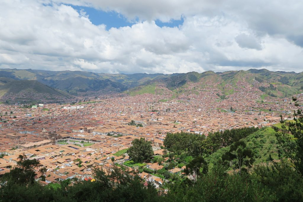 View from Cristo Blanco