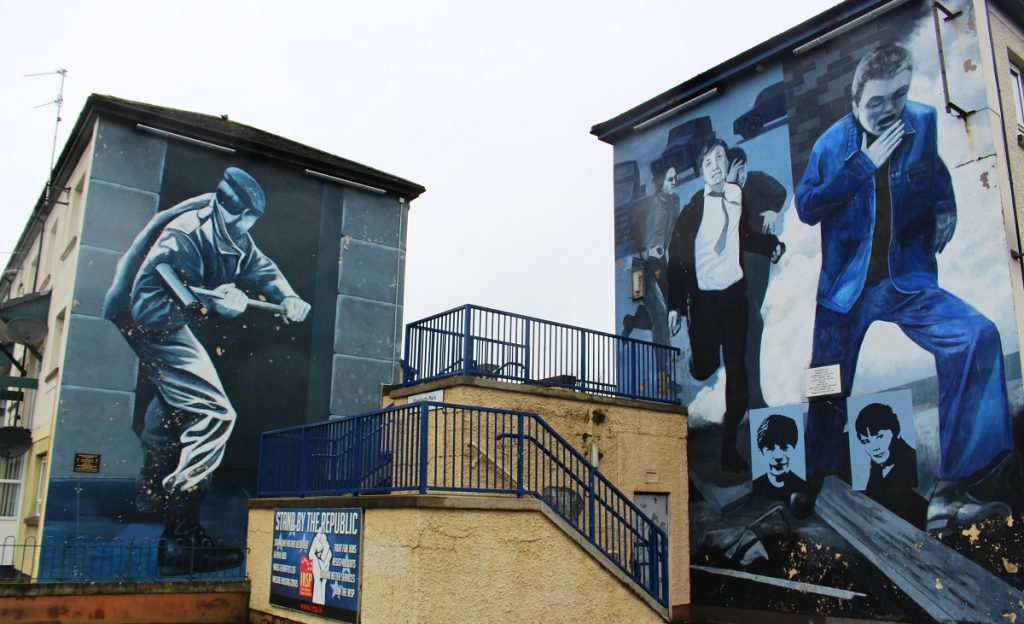 Derry Street Art Wall Murals