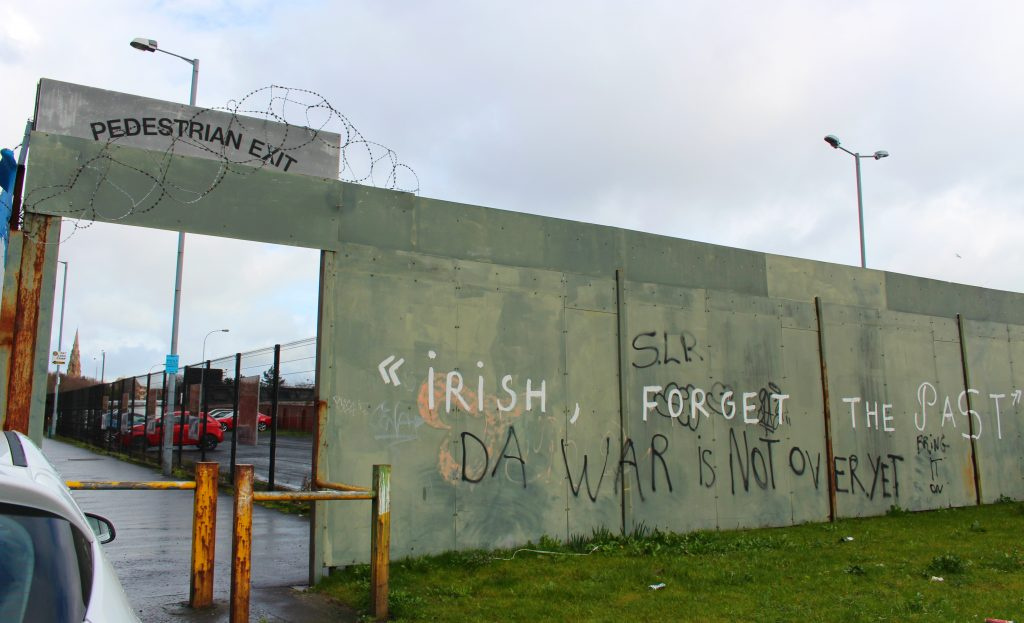 Belfast Peace Wall Gates