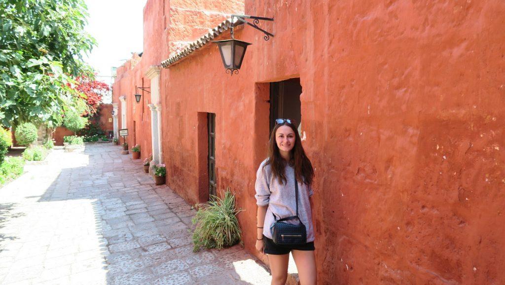 Girl at Santa Catalina Monastery