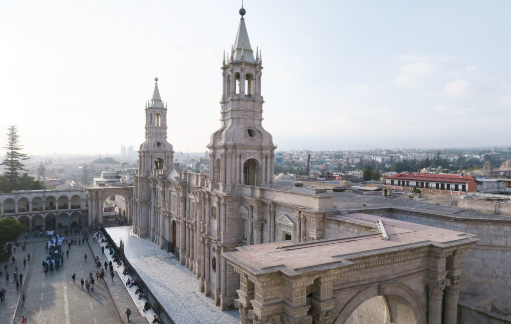 Arequipa Plaza Del Armas