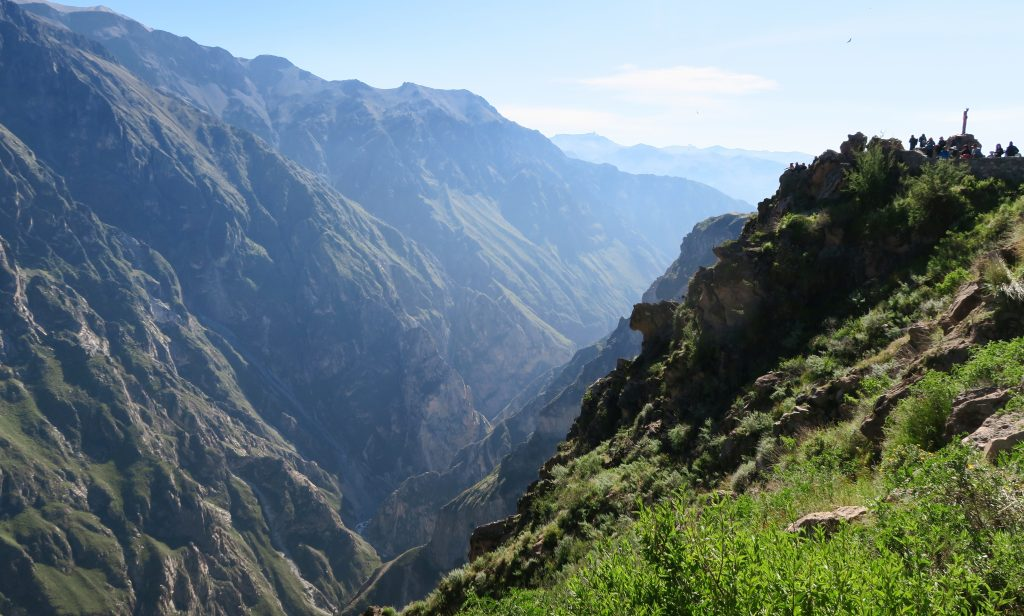 View of The Colca Canyon