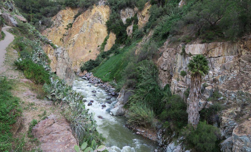Stream Through The Colca Canyon