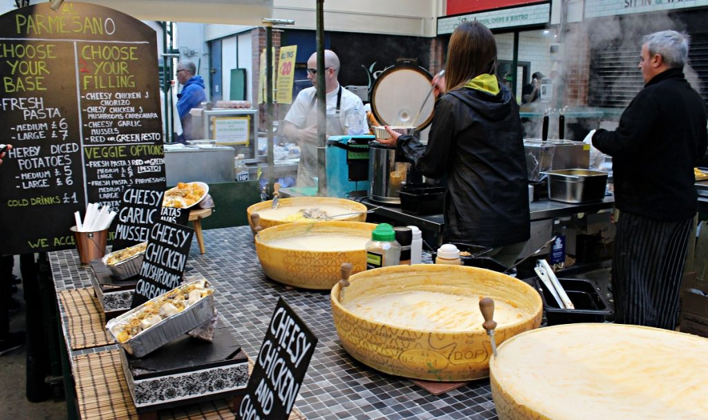 Belfast St George Market - Cheese Stand