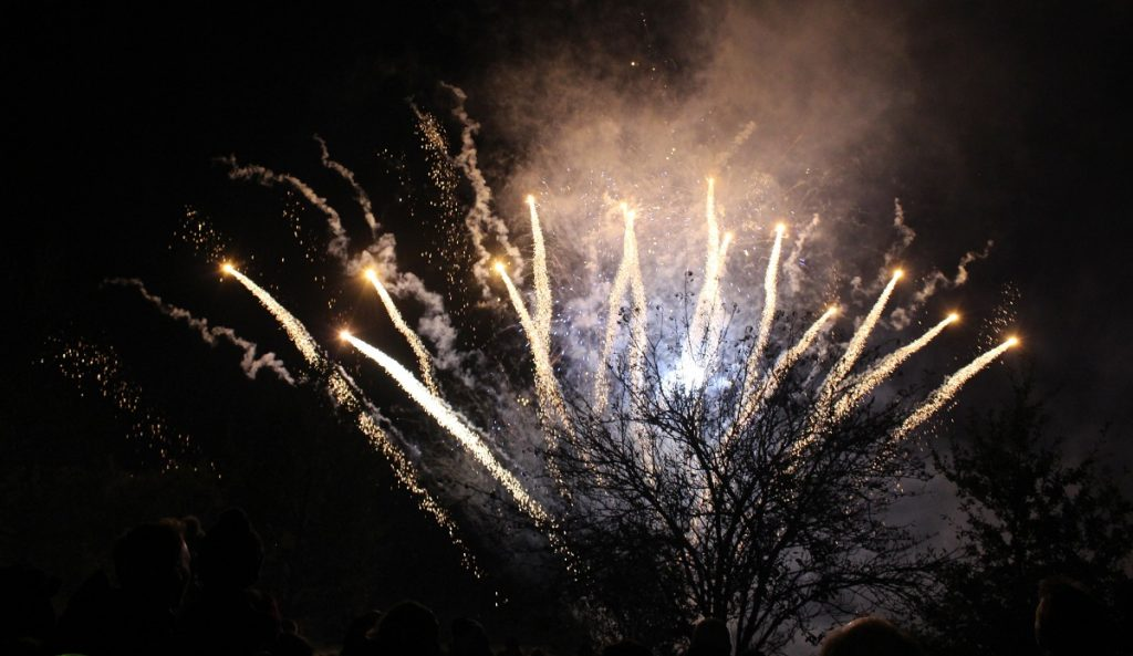 Firework Display in Hever